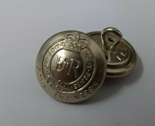 No2 Dress Royal Engineers Buttons 30L Genuine British Army Issue No1
