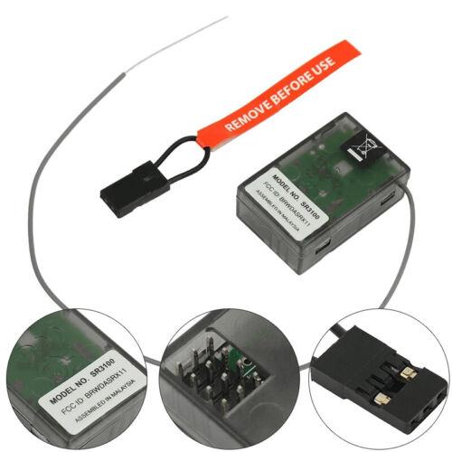 2.4GHz SR3100 DSM2 DX2E 3CH Surface Receiver for Spektrum Transmitter SR3100