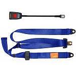 Neuf securon ceinture de sécurité 300//45 bleu statique réglable tour /& ceinture diagonale x1