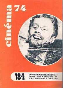 Cinema-74-N-184-Fev-1974-comedie-musicale-americaine-george-cukor-wajda-et-jo
