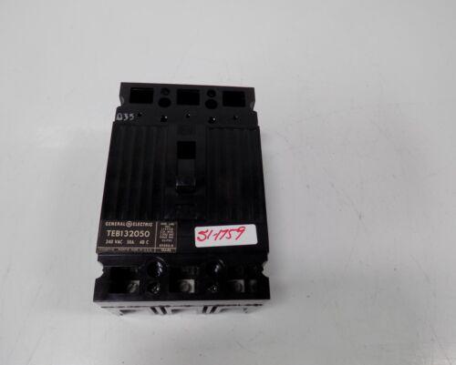 GENERAL ELECTRIC 50 AMP 240V CIRCUIT BREAKER  TEB132050