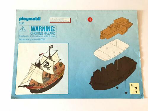 PLAYMOBIL pirati istruzioni di montaggio per scegliere istruzioni Pirates