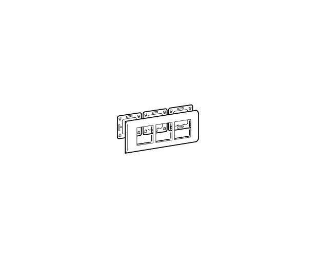 MOSAIC PLAQUE 3X2 MODULES HORIZONTALE LEGRAND 078806LEGRANDLEG-078806