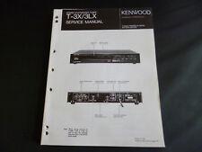 Original Service Manual Kenwood T-3X/3LX