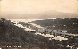 1920s-Fort-Mills-Corregidor-Island-Top-View-Of-Infantry-Barracks-RPPC-Postcard