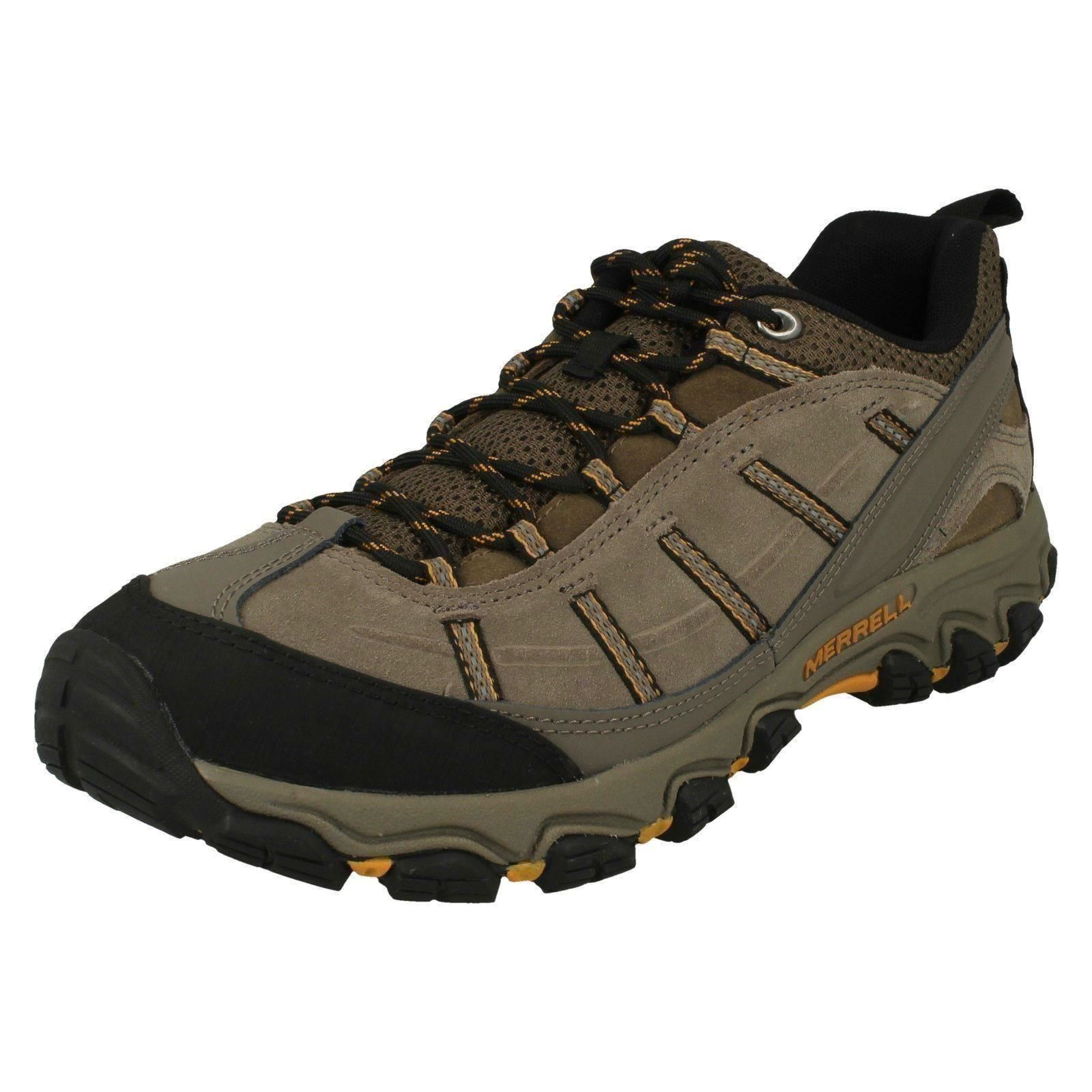 Mens Brown Laced  Merrell Hiking Sneakers terramorph  the newest