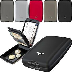 TRU-VIRTU-Silk-Aluminium-Damen-Herren-Geldboerse-Geldklammer-Portemonnaie-Wallet