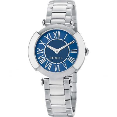 Orologio Donna BREIL FLAIRE TW1441 Bracciale Acciaio Blu Classico Sub 50mt FIV