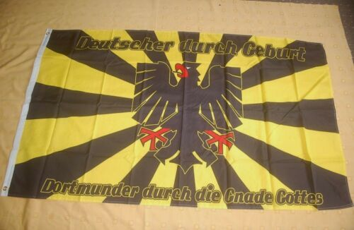 Dortmund Dortmunder durch die Gnade Gottes Flagge Fahne 90 x 150 cm