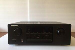 MARANTZ-SR4021-Blk-Professional-Surround-Sound-Home-Theater-Receiver-Works-Great