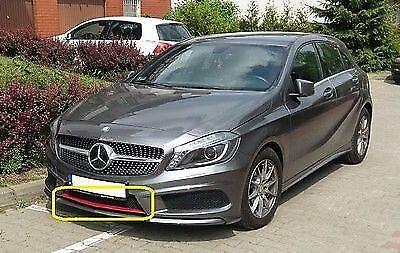 Nuevo Genuino Mercedes MB una clase W176 AMG SPORT PARACHOQUES DELANTERO BORDE Rojo A1768850523