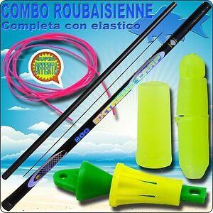 Roubaisienne-Completa-con-elastico-canna-da-pesca-roubaisienne-gara-carpa