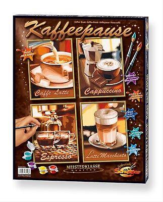 Kaffee Spezialitäten Symbol Der Marke Schipper 609340553 Kaffeepause Mnz Malen Nach Zahlen 4