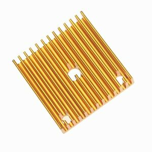 5pcs Lot Golden 40x40x11mm Cooler aluminium Heat Sink Heatsink For 3D printer