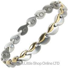 NEW Ladies TITANIUM Magnetic Bracelet Magnets Health