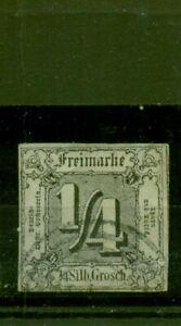 THURN E TAXIS. valore cifre AL QUADRATO N. 26 timbrato