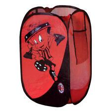 Ac Milan Fc Pop Up habitación Juguete ordenado Bolsa De Lavandería Rojo & Bag