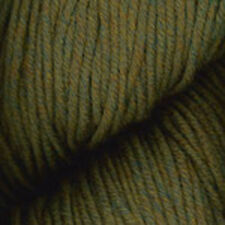 Worsted Merino Superwash yarn from Plymouth, 1 / 100g sk color #81 Green Heather