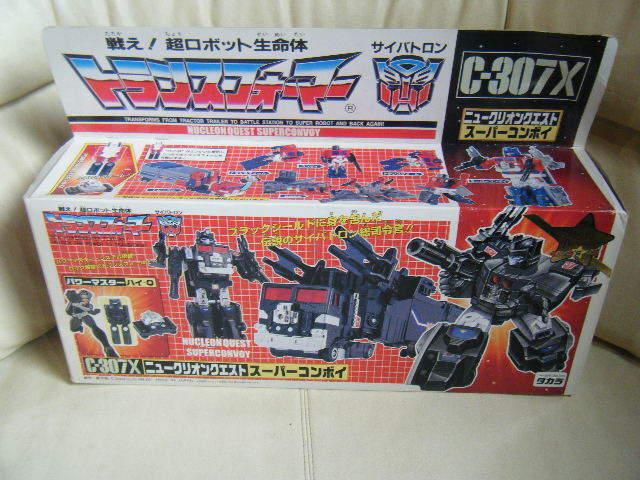 Sin Abrir Raro Transformers G1 C307X nucleón Quest súper convoy EMS libre LD TRS