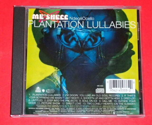 Me'shell Ndegeocello - Plantation lullabies -- CD / World