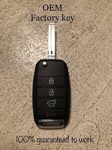 OEM-16-17-18-Kia-Sportage-Flip-Key-Keyless-Remote-Fob-TQ8-RKE-4F27-95430-D9100