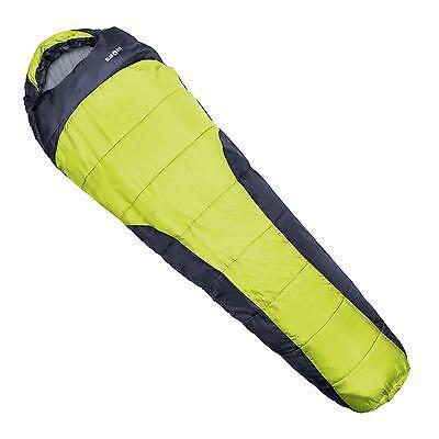 Saco de dormir 230x80x55cm Resistente humedad aislamiento térmico camping verde