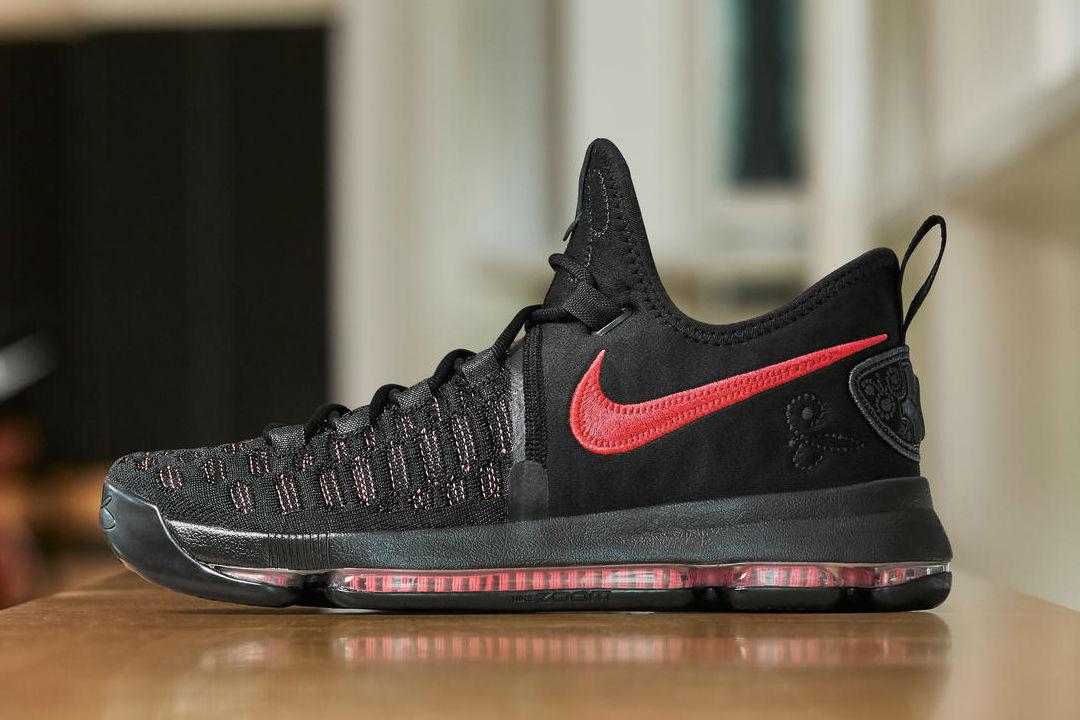 Nike Zoom KD 9 PRM Aunt Pearl Size 9. 881796-060 jordan kobe