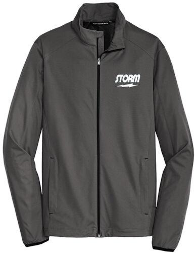 Storm Men/'s Meteor Active Soft Shell Jacket Bowling Shirt Steel Grey
