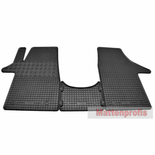 Tappetini IN GOMMA TAPPETINI in GOMMA 3 pezzi adatto per VW t6 bus ab BJ 04//2015