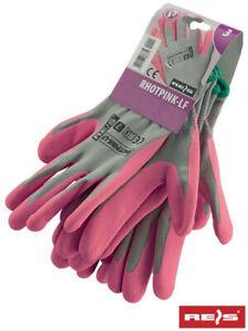 a9f01a0b410d4e Das Bild wird geladen 12-Paar-Gartenhandschuhe-Handschuhe-Damen-Groesse-6-7-
