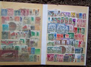 Haendlersortiment-Sammlung-Lagerbuch-Konvolut-Briefmarken-alle-Welt-gest-1