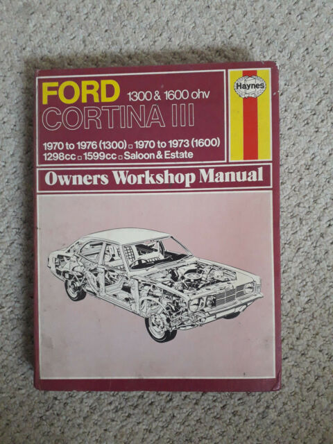 ford cortina mk3 haynes workshop manual ebay rh ebay co uk Cortina Mk2 ford cortina mk3 haynes manual