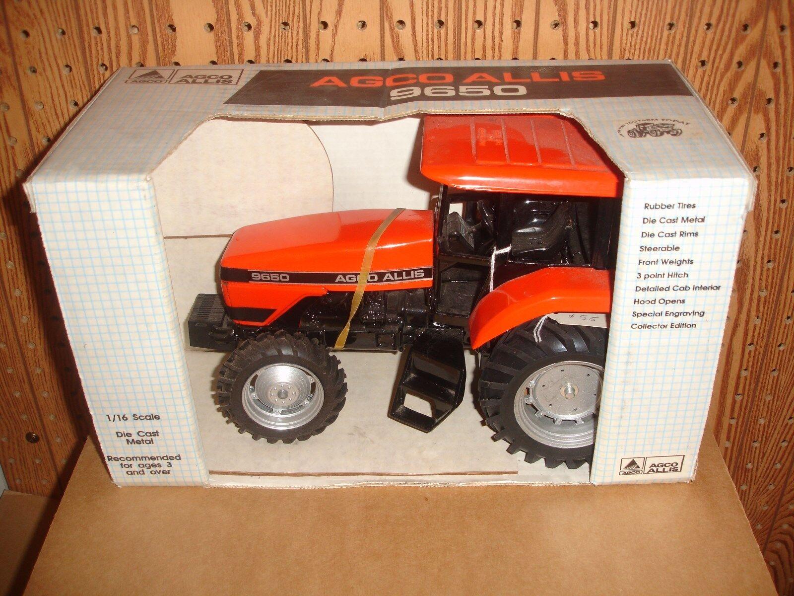 1 16  Agco Allis 9650 toy tractor in original box