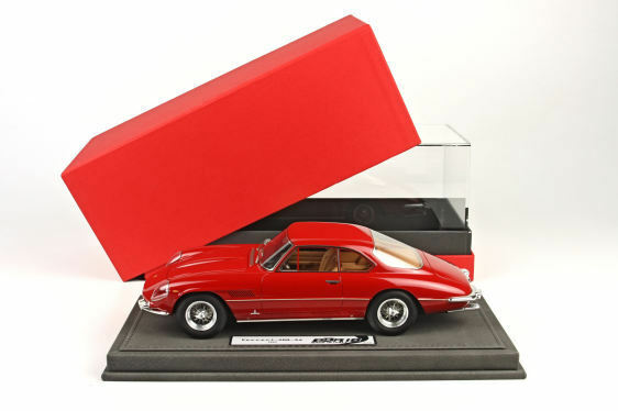 Ferrari 400 Superamerica 1960 Red Red Red 100 pcs 1 18 Display BBR1815BV BBRMODELS 33c835