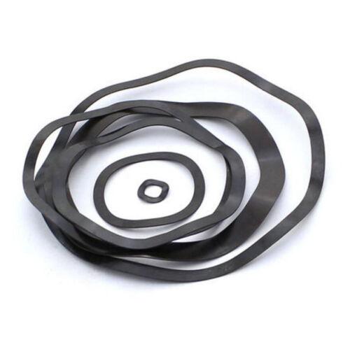 Spring trois Vague Rondelle M6-M130 Acier Carbone Noir Zine-Plaqué