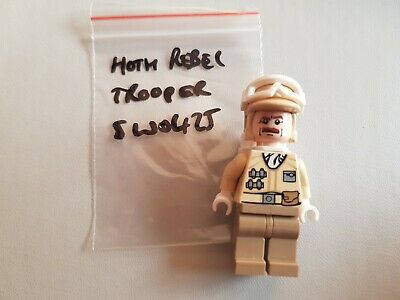 Lego Star Wars Hoth Rebel Trooper figurine from set 9509