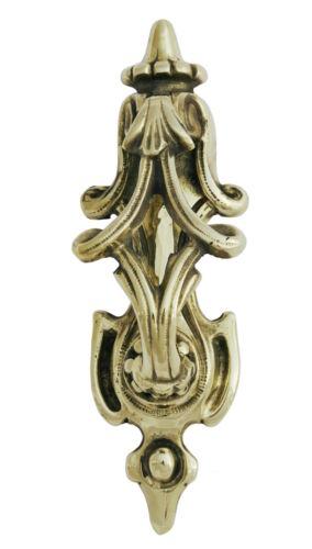 En Laiton Massif Victorien Défiler porte knocker antique vintage rappeur décoratifs