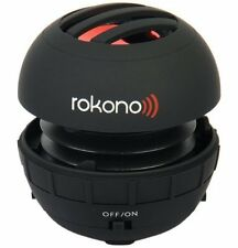 Rokono BASS+ Mini Speaker for iPhone / Android / Tablet / Laptop - Black