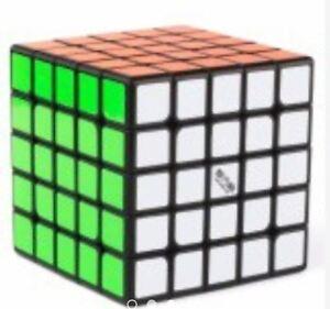 QiYi-WuShuang-5x5x5-Speed-Rubik-039-s-Cube-Black