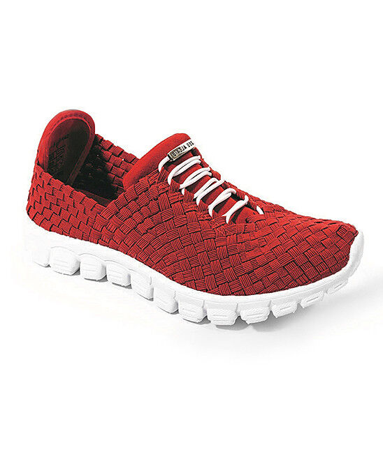 Zee Alexis Women's Danielle Woven Fashion Athletic shoes Red US 6-6.5 NEW