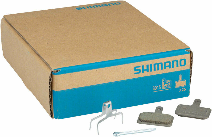 Shimano B01S Resin Disc Brake Pads and Spring, 25 Pairs for Deore BR- M575, B...