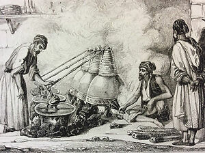 Arabia-Distillery-Engraving-on-Steel-XIX-Th-circa-1860