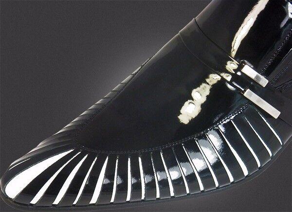 O.G Slipper Chelsy - Italienischer Designer Slipper O.G Haifisch Kiemen schwarz handmade 41 bb40f4