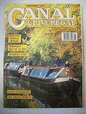 Canal & Riverboat magazine. Vol. 16. No. 11. November, 1993. The Viking Start 21