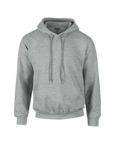 Gildan 50/% Cotton MENS DRYBLEND HOODIE 14 Colours 50/% Polyester Hooded