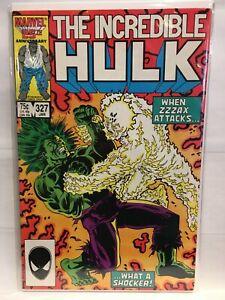 Incredible-Hulk-Vol-1-327-VF-1st-Print-Marvel-Comics