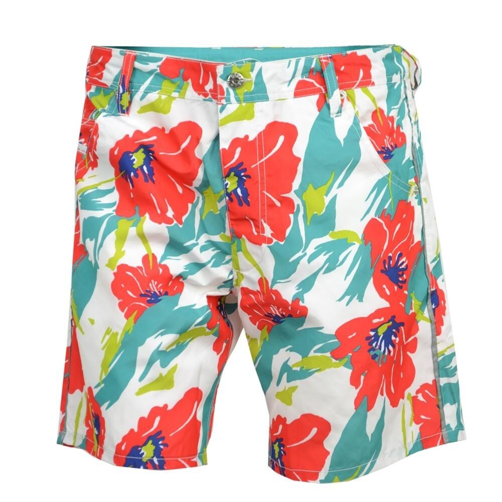 DIESEL KROOBEACH Shorts Floral Size 28 00SOL70 MSRP