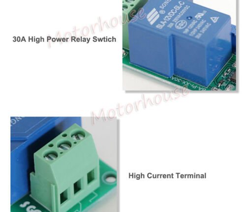 12 V 24 V Batería de plomo bajo voltaje de corte Off interruptor de encendido excesivo proteger Board