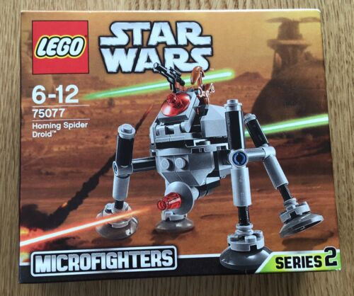 Lego Star Wars Homing Droid Spider 75077 Microfighters Series 2 retired set