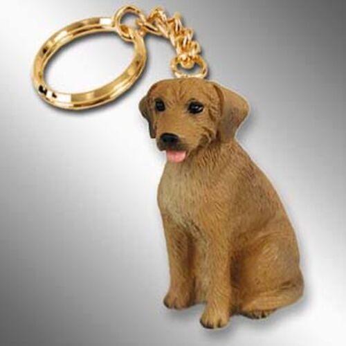 Rhodesian Ridgeback Dog Tiny One Resin Keychain Key Chain Ring